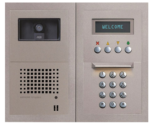 Voice Amp Video Intercom System Brick Freehold Point